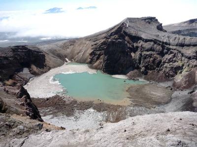 Один из кратеров Горелого