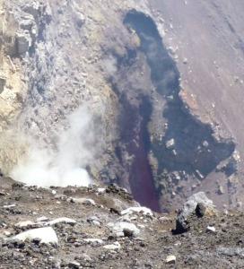 Выход лавы