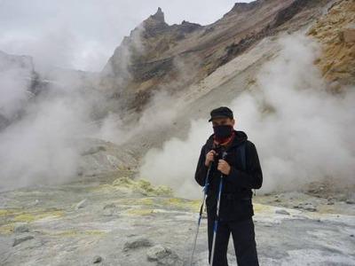 В кратере мутновки