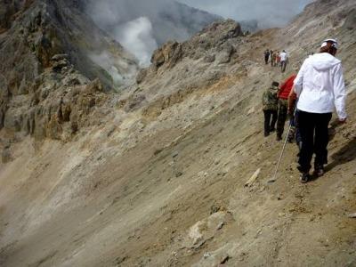Поход к вонючему кратеру
