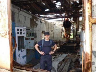 Разрушеная станция