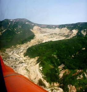 Долина Гейзеров сель 2007 года
